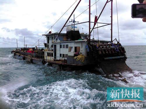 雷州麦小弟故事_广东雷州市渔霸在休渔期开货轮\