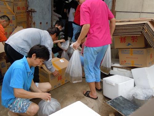 2亿尾)送天津市水生动物疫病预防控制中心进行白斑病