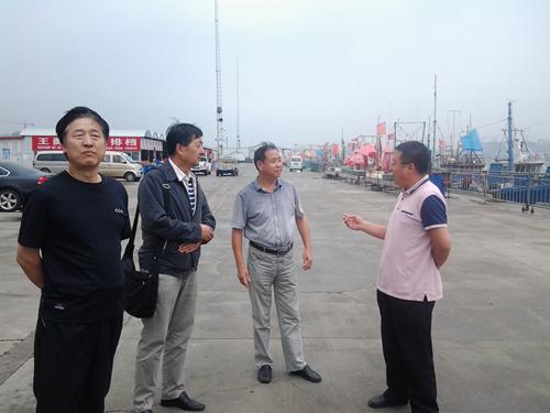 海警北海分局筹备组相关领导到天津市调研督导伏季