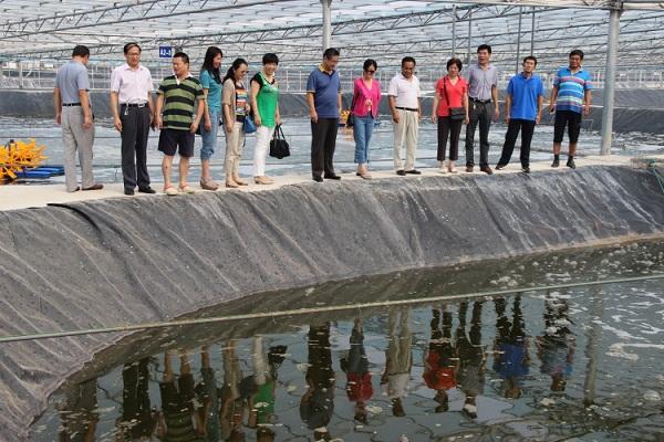 山东省现代农业产业技术体系虾蟹类创新团队赴东营