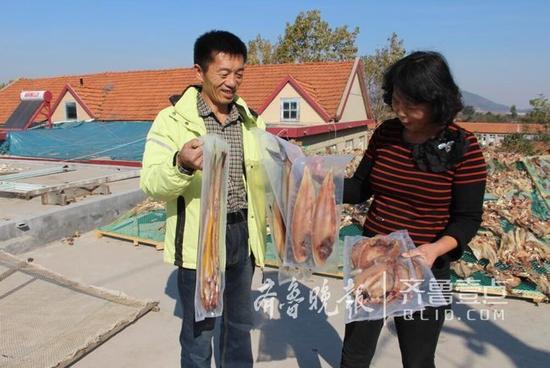 """晒鱼季,山东省青岛市即墨市""""晒鱼村""""年产300多万斤干鱼"""