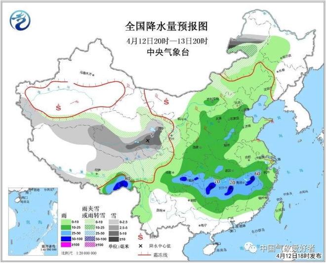 三种雨带即将汇合,南方降雨还要扩大!广东人要注意这一点