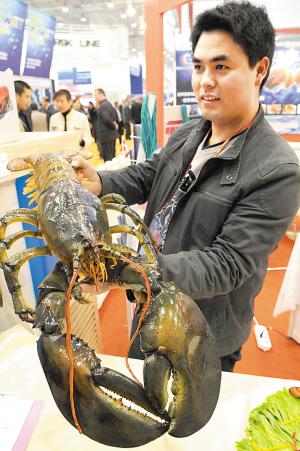 国际渔业博览会水产养殖展览会昨日在青岛开幕