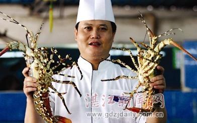 湛江龙虾更是海鲜上等品