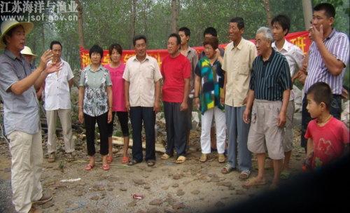 江苏铜山县柳泉镇举办河蟹小龙虾梅雨季节生产
