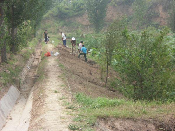 陕西渭南富平县渔政站扎实推进池塘改造项目