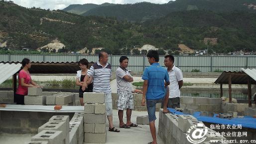 云南临沧市水产站站长一行深入双江县检查指导渔业工作