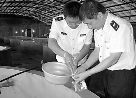 山东威海检验检疫局开展水产品质量安全专项检查