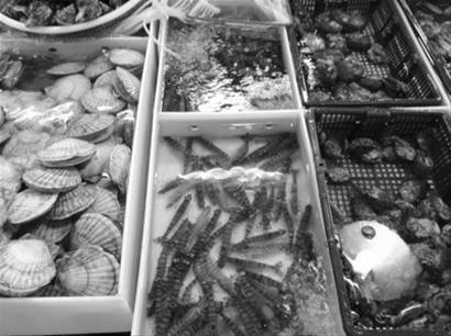大连市场在售基围虾个个鲜活 却少有本地货