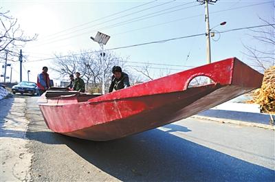 北京密云水库鱼停止捕捞五个月