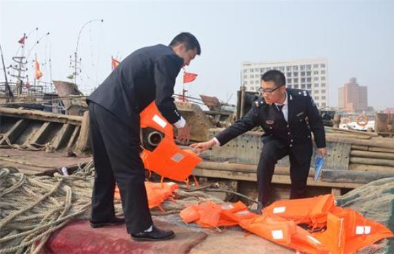 葫芦岛市开展五一前夕渔业安全生产执法检查