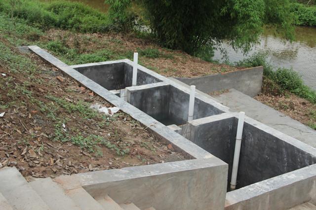 底排污系统三级过滤池
