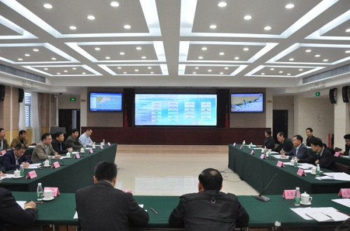 福建省海洋与渔业厅李钢生,钟声副厅长到广东省海洋与渔业局调研