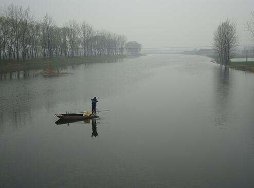 安徽亳州蒙城县河蟹养殖技术领他走上渔业致富路