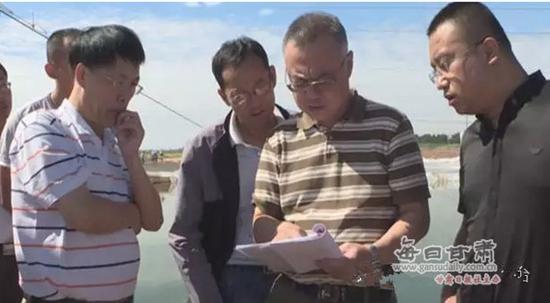国家专家组到甘肃白银市景泰县调研水产养殖字体刷工笔设计图片
