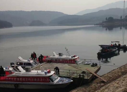 湖北黄冈市白莲河水库正式启动禁渔期制度