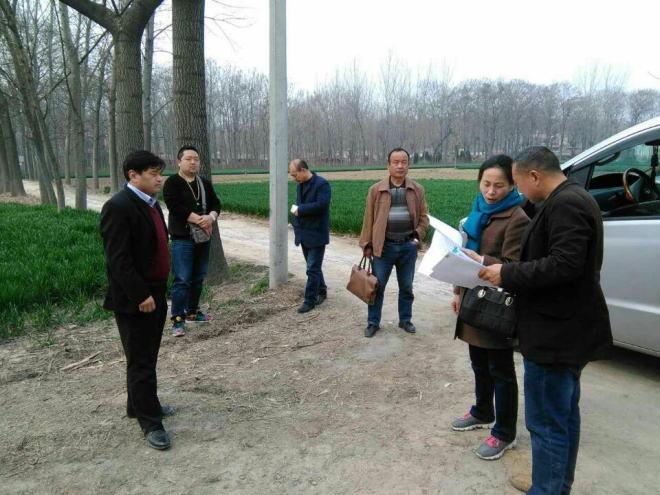 安徽亳州谯城区畜牧水产局领导深入古井镇调研