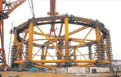 武船再签挪威五座深海渔场订单 能抗12级台风
