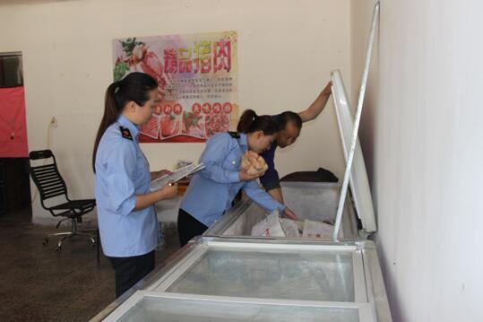 内蒙古额济纳旗监局开展畜禽水产品兽药残留超标专项整治行动