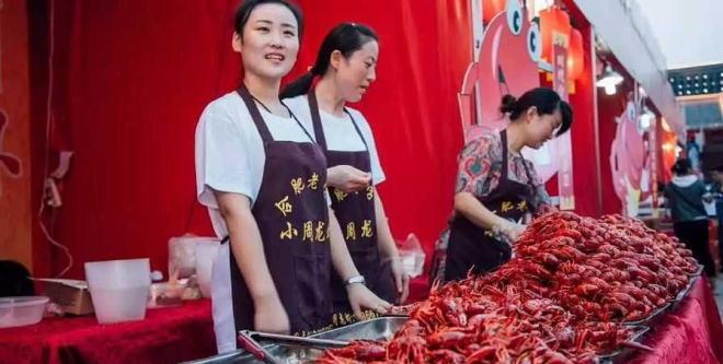 2017年安徽合肥市小龙虾经济总量达50亿元