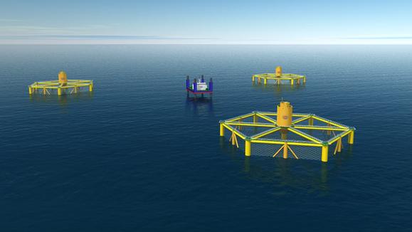 """海南将装备直径120米""""超级渔场""""深海养殖网箱 可远程遥控"""