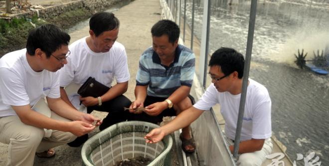 浙江宁波这项科技厉害了,准确预警水产流行病,还能对症下药