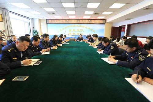 """第五支队开展""""中国梦新时代""""宣讲活动"""
