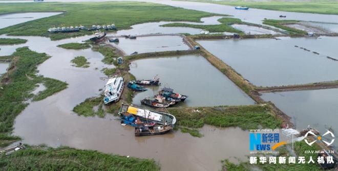 """直击强台风""""玛莉亚""""闽东灾区牙城镇:海上养殖场受重创 渔民忙重建"""