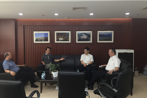 福建省海洋与渔业厅刘常标副巡视员一行赴中国渔业互保协会走访交流