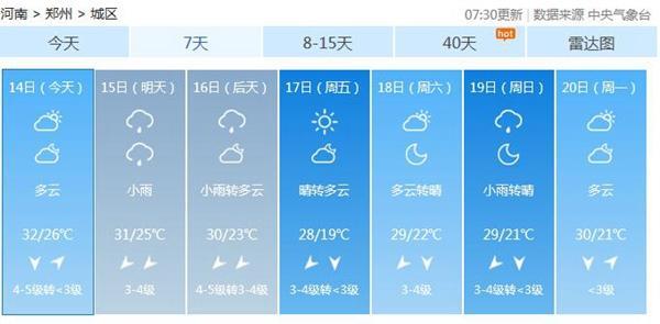 """第14号台风""""摩羯""""影响河南安阳濮阳鹤壁新乡局"""