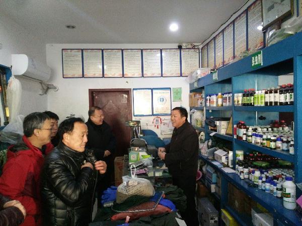 湖北省黄冈市渔政处开展节前假冒伪劣水产品整