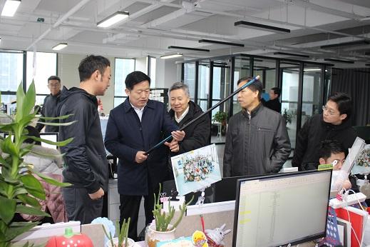 山东省临沂市渔业发展保护中心组织到兰山区、沂南县调研渔业工作