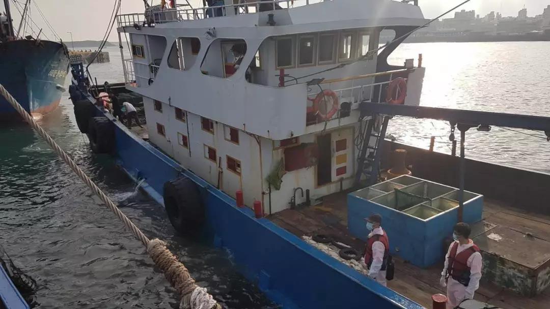 """台湾以""""越界""""为由查扣大陆渔业补给船"""