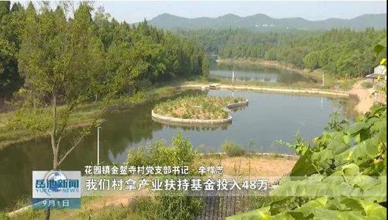 四川省广安市岳池县:昔日水淹区 今朝鱼米乡