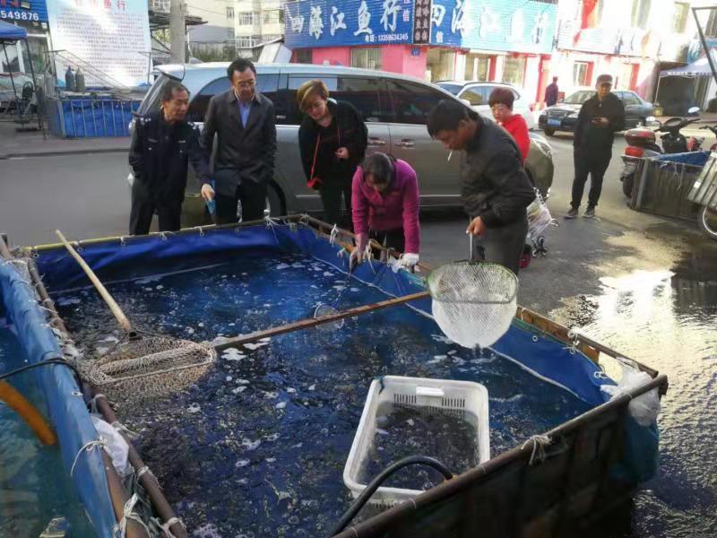 <strong>黑龙江省水产技术推广站工作组到</strong>