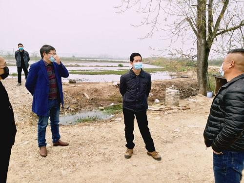 方红兵调研湖北黄冈市水产企业复工复产及小龙虾发展情况