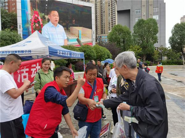 """贵州省龙里县:今早,湾滩河500多斤稻花鱼被""""抢""""完了!"""
