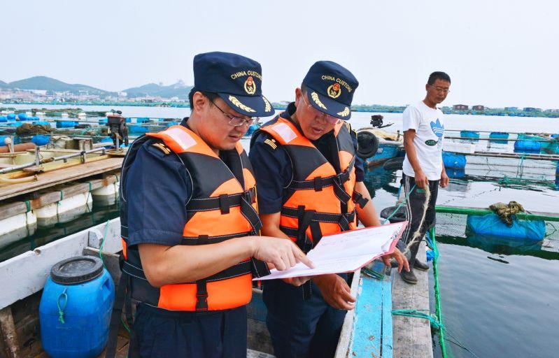 青岛海关多措保障活水生动物出口量质齐升