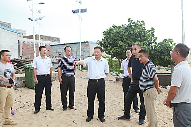 海南儋州市排浦镇将坚决拆除海岸线200米内养殖